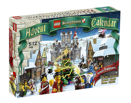 Lego Castle 7952 Advent Calendar