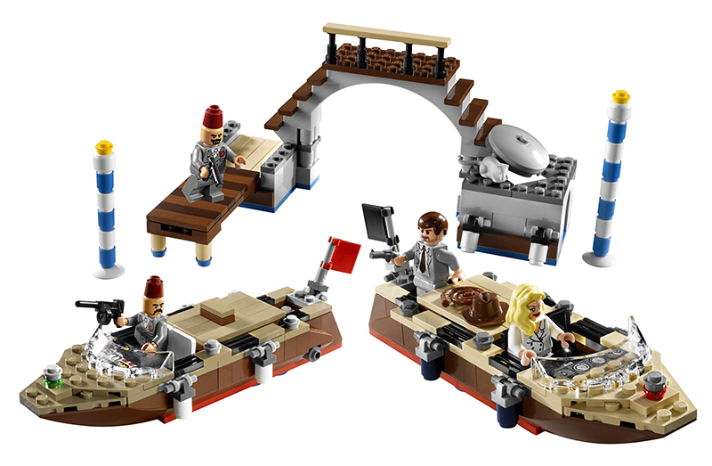 Lego Indiana Jones 7197 Venice Canal Chase