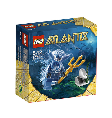Lego Atlantis 8073 Manta Warrior Воин-скат
