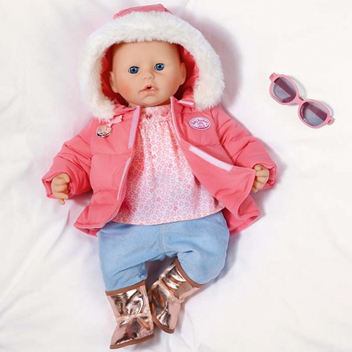 Zapf Creation Baby Annabell 793-961 Одежда зимняя с сапожками