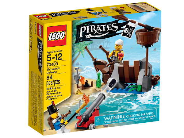 Lego Pirates 70409 Shipwreck Defense