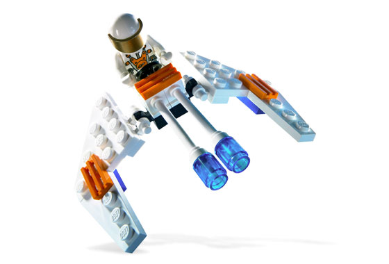 Lego Mars Mission 5619 Crystal Hawk Кристальный ястреб
