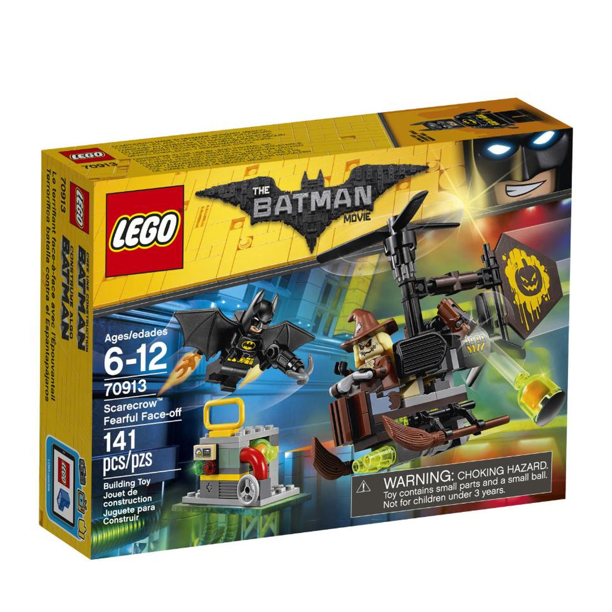 Lego Batman Movie 70913 Схватка с Пугалом