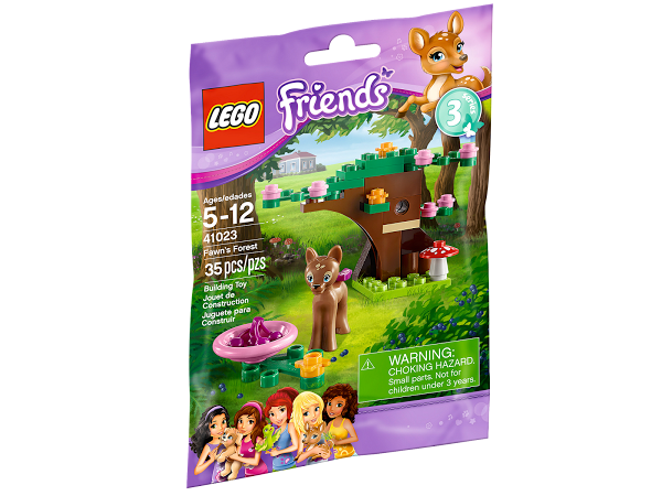 Lego Friends 41023 Fawn's Forest Оленёнок в лесу