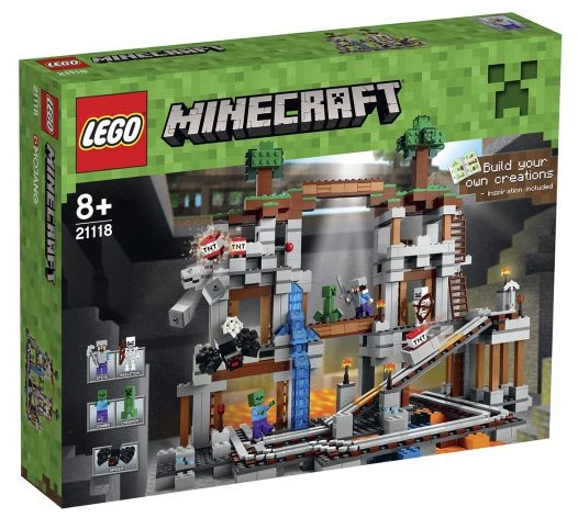 Lego Minecraft 21118 The Mine Шахта