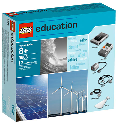 Lego Education & Dacta 9688 Renewable Energy Add-On Set