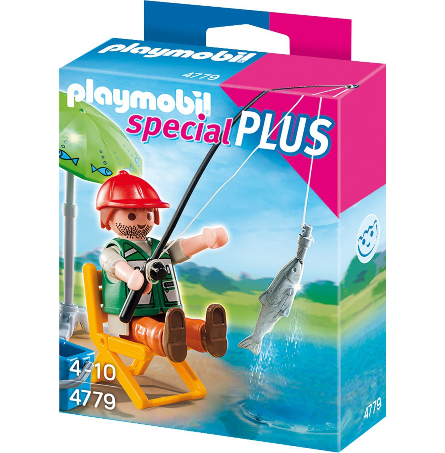 Playmobil 4779pm Дополнение: Рыбак со снастями