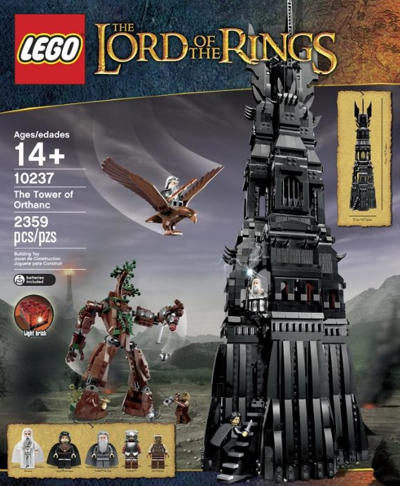 Lego Lord of the Rings 10237 The Tower of Orthanc Башня Ортханк