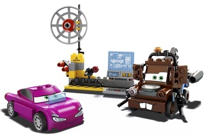 Lego Cars 8424 Mater's Spy Zone Шпионский штаб Мэтра