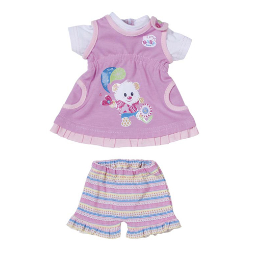 Zapf Creation my little BABY born 820-209 Платья, 32 см, 2 в ассартименте