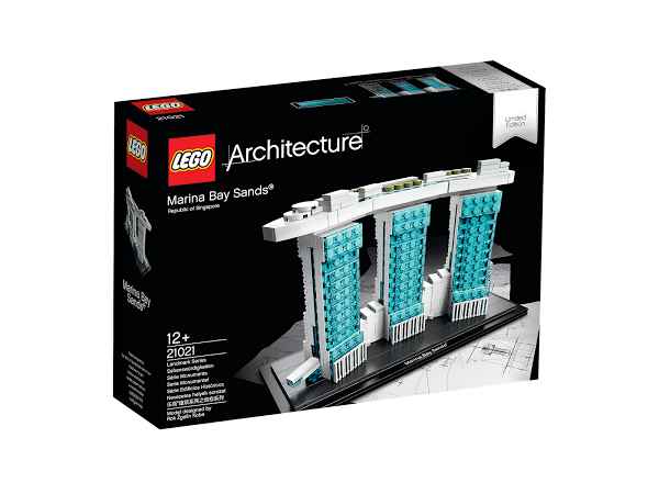 Lego Architecture 21021 Marina Bay Sands