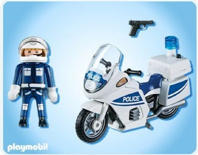 Playmobil 5185pm Полиция: Полицейский мотоцикл