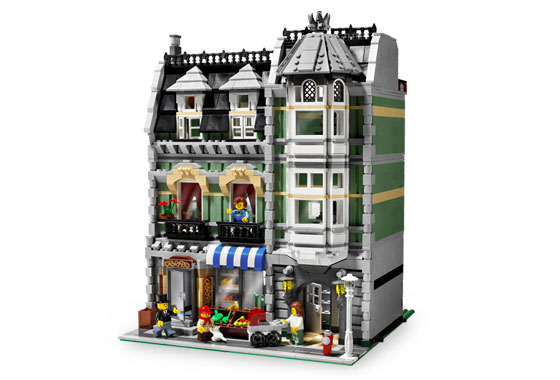 Lego Exclusive 10185 Green Grocer Зелёная бакалейная лавка