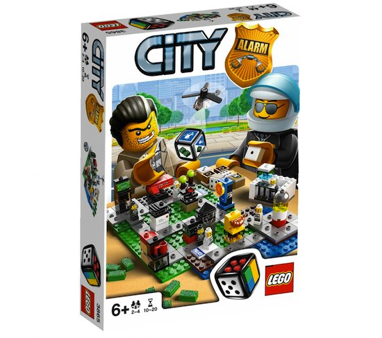 Lego Games 3865 City Alarm Переполох в LEGO городе