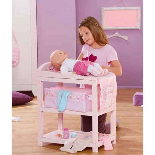 Zapf Creation Baby Annabell 792-377 Шкафчик/Столик для пеленания