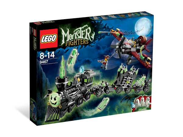 Lego Monster Fighters 9467 The Ghost Train Поезд с Привидениями