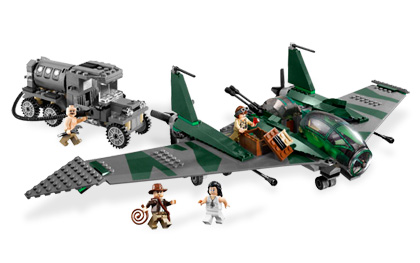Lego Indiana Jones 7683 Fight on the Flying Wing Драка на крыле