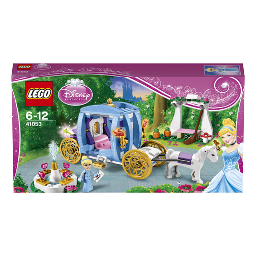 Lego Disney Princess 41053 Cinderella's Dream Carriage Карета Золушки