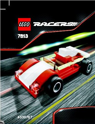 Lego Racers 7613 Track Racer
