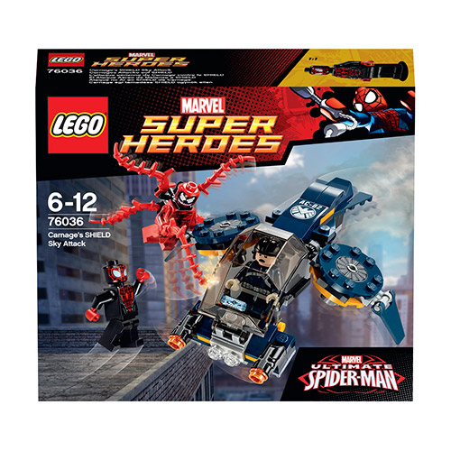 Lego Super Heroes 76036 Carnage's SHIELD Sky Attack Нападение Карнажа