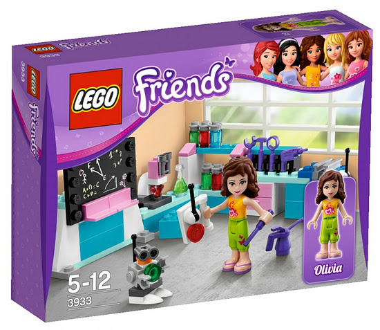 Lego Friends 3933 Olivia's Inventor's Workshop Лаборатория Оливии