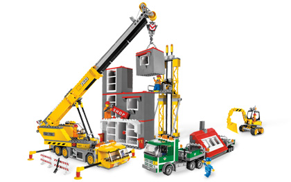 Lego City 7633 Construction Site Стройплощадка