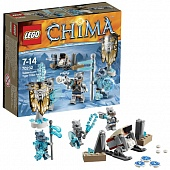 Lego Legends of Сhima 70232 Sabre Tooth Tiger Tribe Battle Pack Лагерь клана Саблезубых Тигров