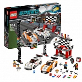 Lego Speed Champions 75912 Porsche 911 GT Finishing Line Финишная линия Порше 911 GT