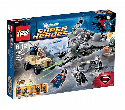 Lego Super Heroes 76003 Superman: Battle of Smallville Битва за Смолвиль