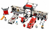 Lego Speed Champions 75876 Porsche 919 Hybrid and 917K Pit-Lane
