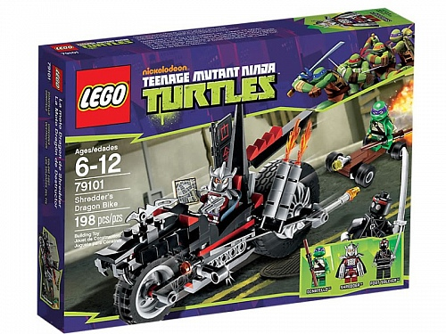 Lego Ninja Turtles 79101 Shredder's Dragon Bike Черепашки-ниндзя: Мотоцикл-дракон Шреддера