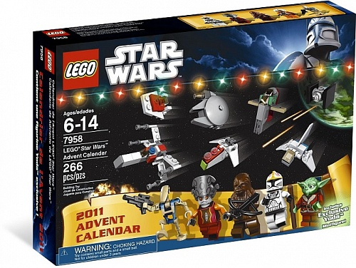 Lego Star Wars 7958 Star Wars Advent Calendar Рожденственский Календарь Star Wars
