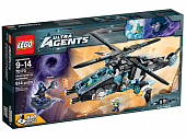 Lego Ultra Agents 70170 UltraCopter vs. AntiMatter Воздушное сражение