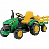 Peg-Perego OR0047 Детский электромобиль JD GROUND FORCE w/trailer