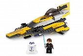 Lego Star Wars 7669 Anakin's Jedi Starfighter Звёздный истребитель Анакина