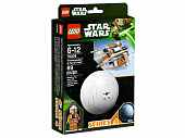 Lego Star Wars 75009 Snowspeeder & Planet Hoth Снеговой спидер и планета Хот