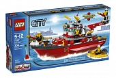 Lego City 7207 Fire Ship Пожарный катер