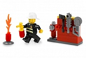Lego City 5613 Firefighter Пожарник