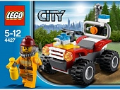 Lego City 4427 Fire ATV Пожарный квадроцикл