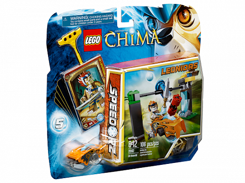 Lego Legends of Сhima 70102 Chi Waterfall Водопад Чи