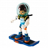 Игрушка Miles from Tomorrowland 86102 Фигурка Майлз с бластбордом, 7 см