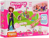 Конструктор Engino IG20 Inventor Girls 20 моделей