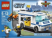 Lego City 7286 Prisoner Transport Перевозка заключённых