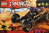 Lego Ninjago 70589 Cole's Earth roader