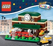 Lego Exclusive 40142 Bricktober Train Station