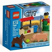 Lego City 7566 Farmer Фермер
