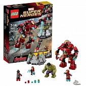 Lego Super Heroes 76031 Hulkbuster Rescue Mission Разгром Халкбастера