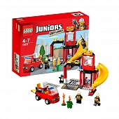 Lego Juniors 10671 Fire Emergency Пожарная станция