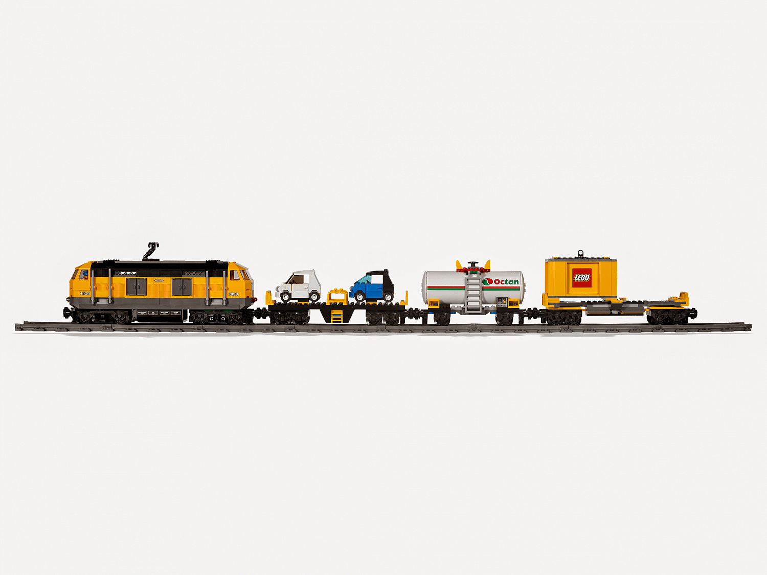 Lego City 7939 Cargo Train Товарный поезд