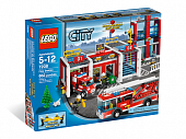 Lego City 7208 Fire Station Пожарное депо